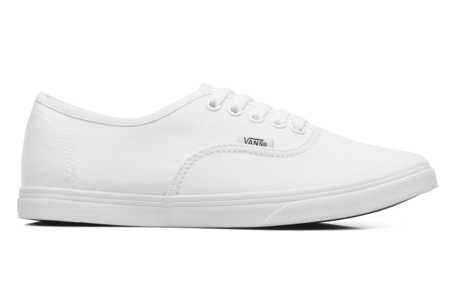Baskets Vans Authentic Lo Pro W Blanc vue derrière