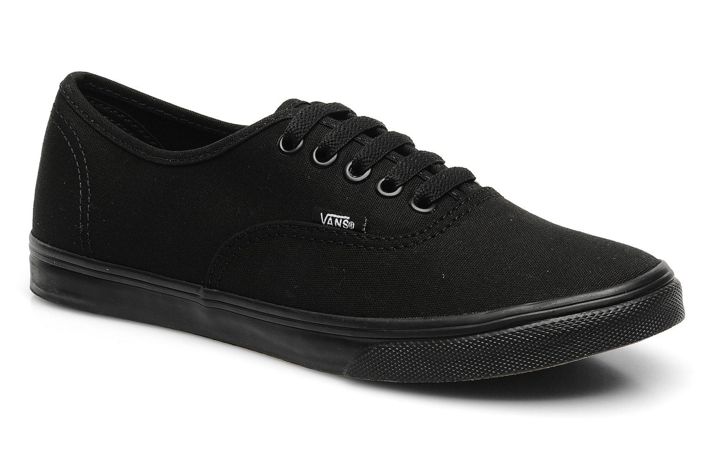 Sneaker Vans Authentic Lo Pro W schwarz detaillierte ansicht/modell
