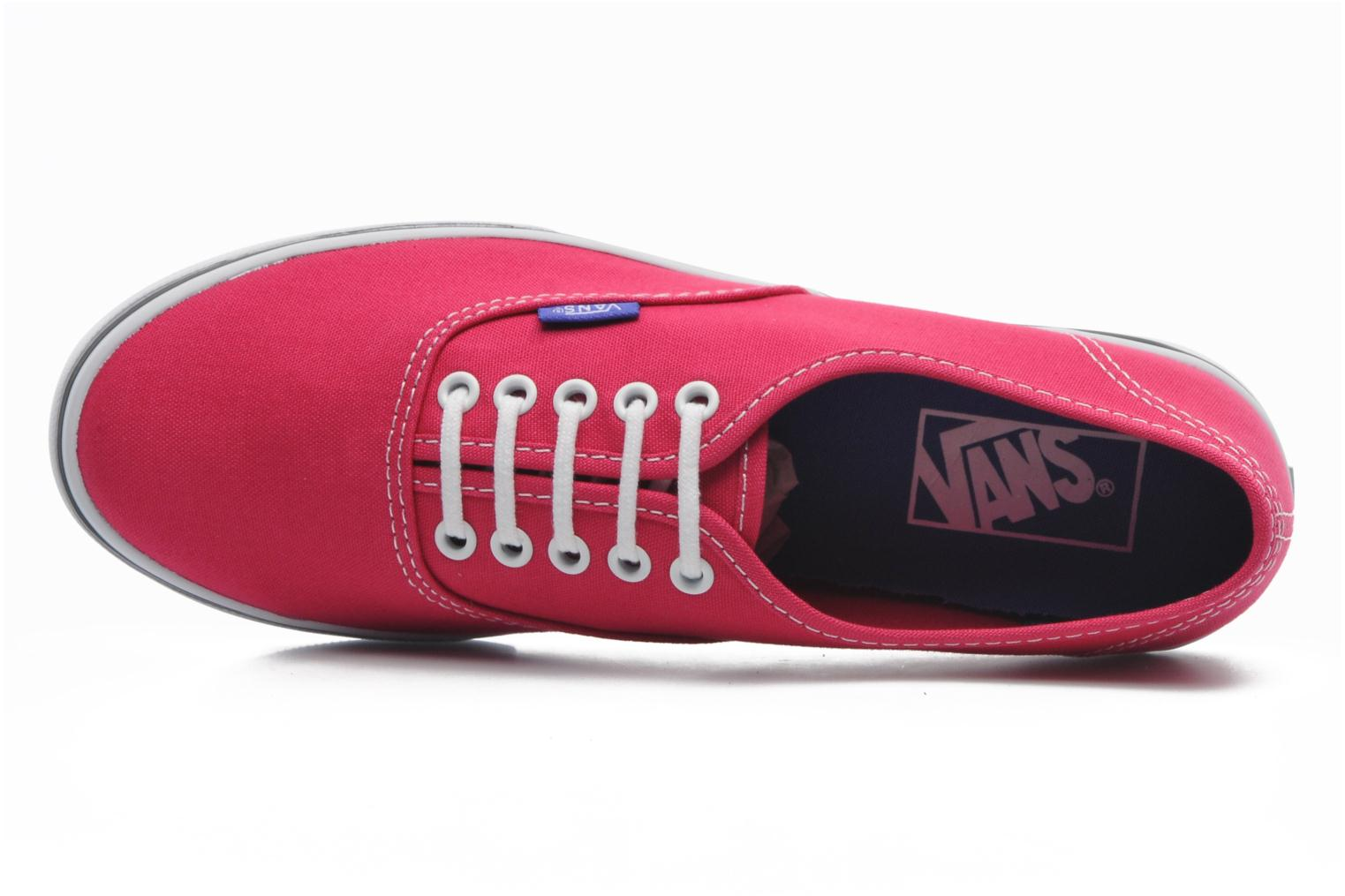 Trainers Vans Authentic Lo Pro W Pink view from the left