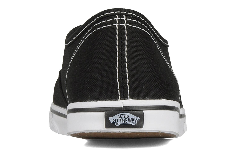 Sneakers Vans Authentic Lo Pro W Zwart rechts