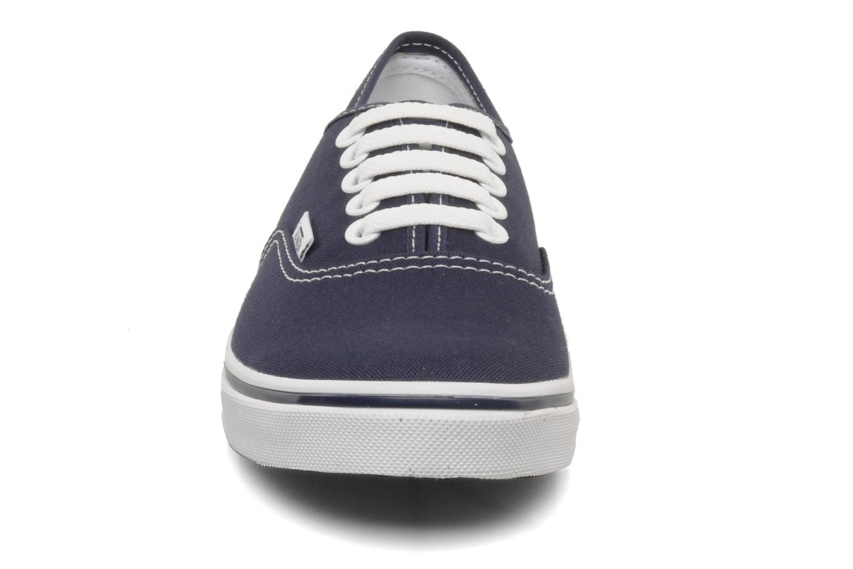 Baskets Vans Authentic Lo Pro W Bleu vue portées chaussures