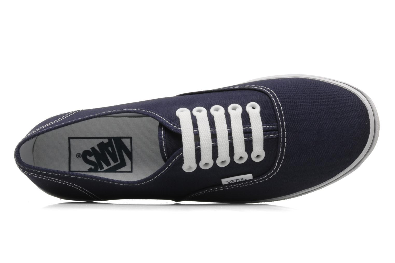 Baskets Vans Authentic Lo Pro W Bleu vue gauche