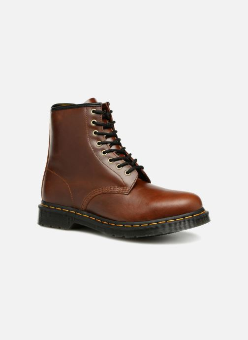 Bottines et boots Dr. Martens 1460 M Marron vue détail/paire