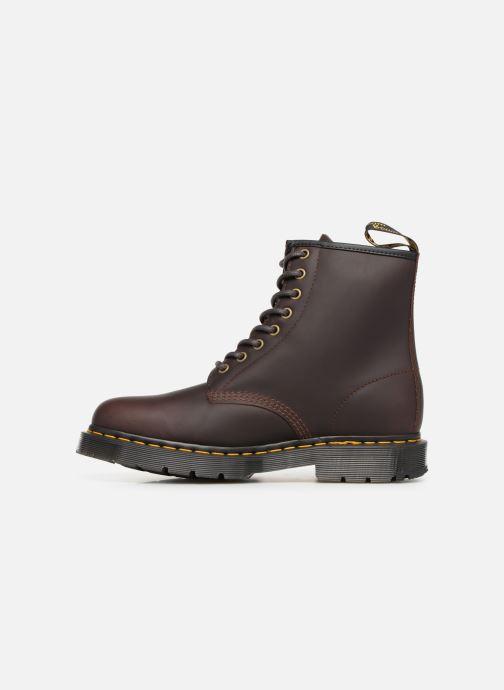 Boots en enkellaarsjes Dr. Martens 1460 M Bruin voorkant