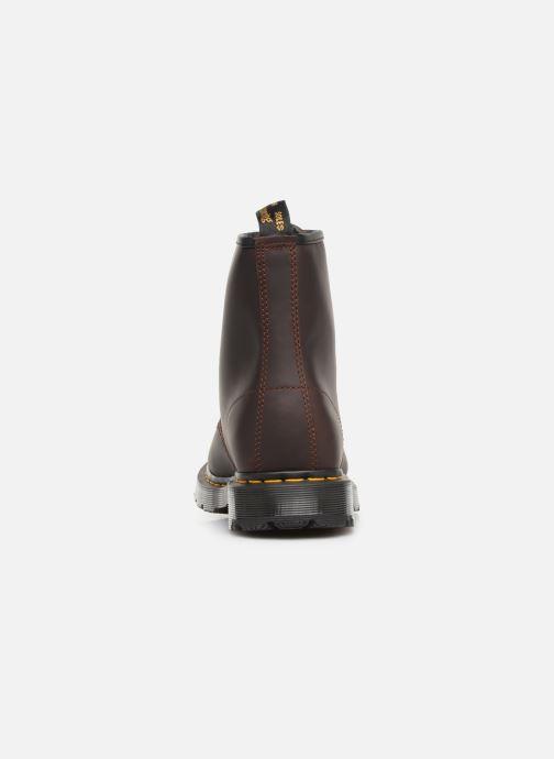 Boots en enkellaarsjes Dr. Martens 1460 M Bruin rechts
