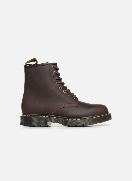 Boots en enkellaarsjes Dr. Martens 1460 M Bruin achterkant