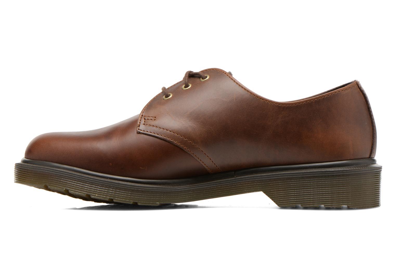 Chaussures à lacets Dr. Martens 1461 PW Marron vue face