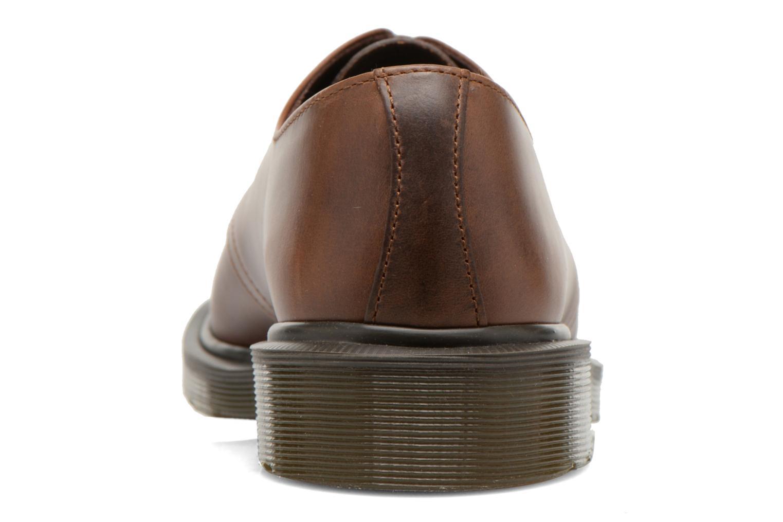 Chaussures à lacets Dr. Martens 1461 PW Marron vue droite
