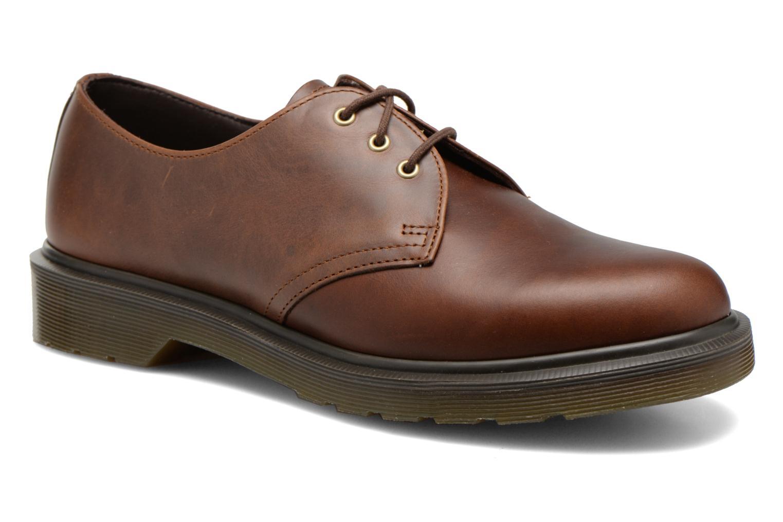 Chaussures à lacets Dr. Martens 1461 PW Marron vue détail/paire