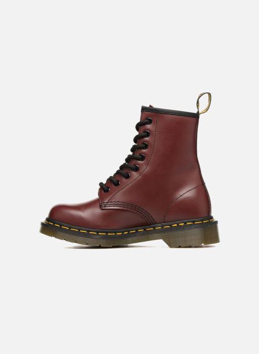 Boots Dr. Martens 1460 W Vinröd bild från framsidan