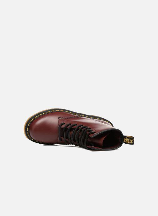 Bottines et boots Dr. Martens 1460 W Bordeaux vue gauche