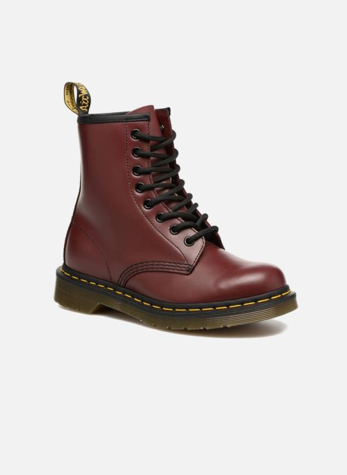 Ankle boots DR. Martens 1460 W Burgundy detailed view/ Pair view