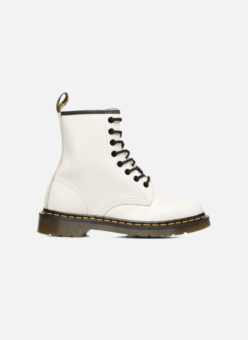 Bottines et boots Dr. Martens 1460 W Blanc vue derrière