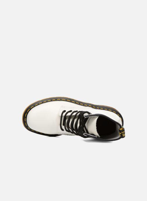 Bottines et boots Dr. Martens 1460 W Blanc vue gauche
