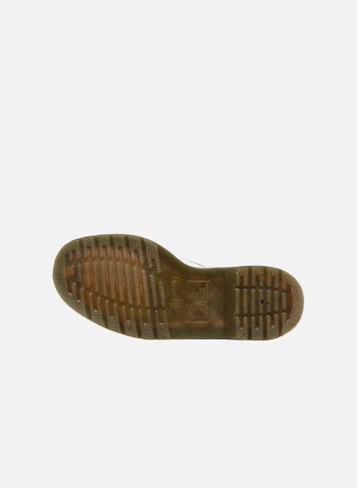 Bottines et boots Dr. Martens 1460 W Blanc vue haut