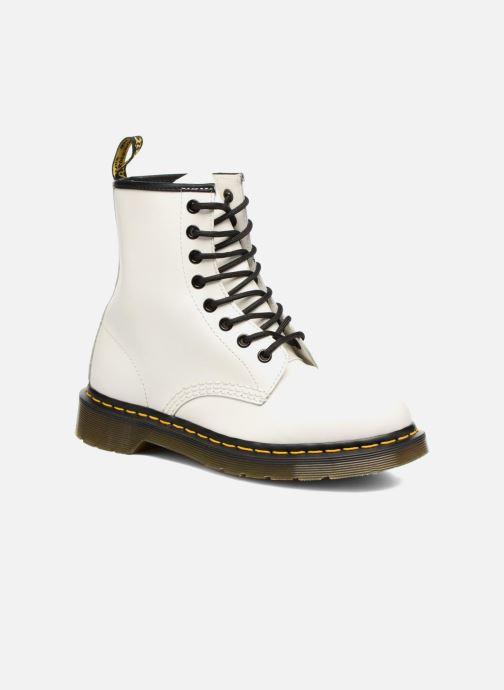 Bottines et boots Dr. Martens 1460 W Blanc vue détail/paire