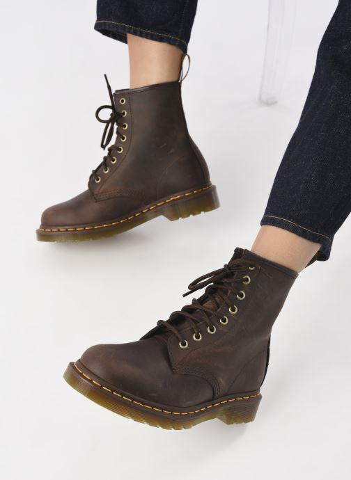 Boots en enkellaarsjes DR. Martens 1460 W Bruin onder