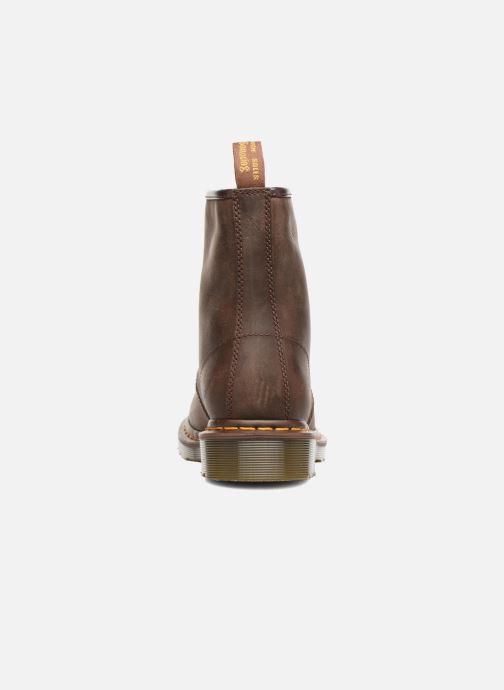 Bottines et boots Dr. Martens 1460 W Marron vue droite