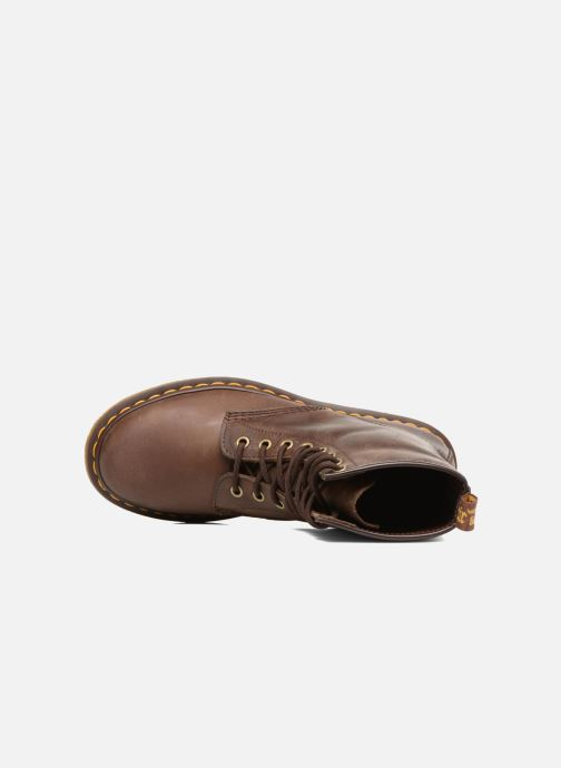 Boots en enkellaarsjes DR. Martens 1460 W Bruin links