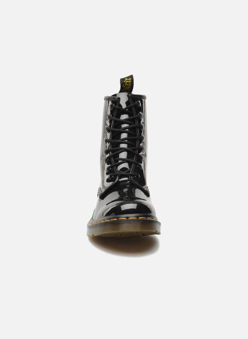 Bottines et boots Dr. Martens 1460 W Noir vue portées chaussures