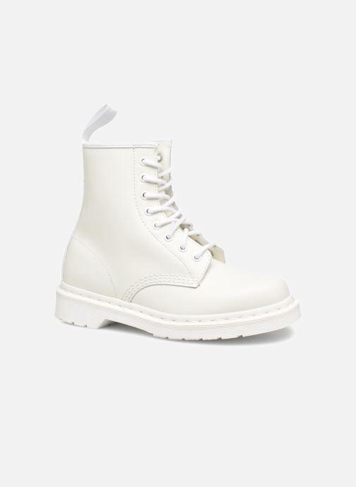 cd7f7ab27dcc78 Stiefeletten   Boots Dr. Martens 1460 W weiß detaillierte ansicht modell