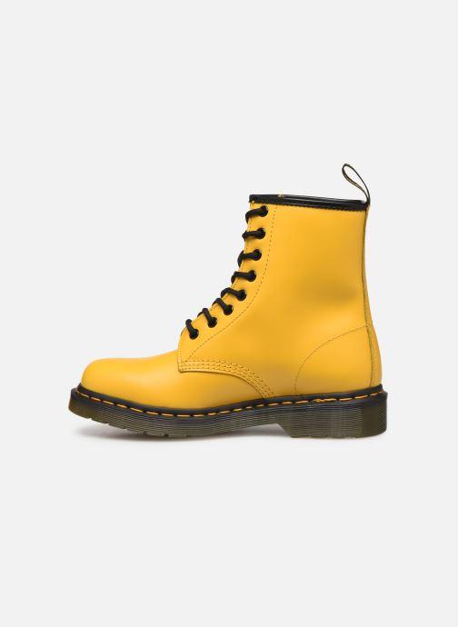 Bottines et boots Dr. Martens 1460 W Jaune vue face