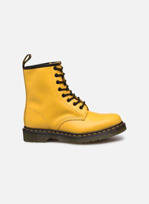 Boots en enkellaarsjes Dr. Martens 1460 W Geel achterkant