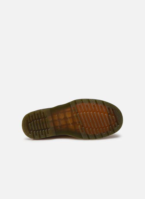 Bottines et boots Dr. Martens 1460 W Jaune vue haut