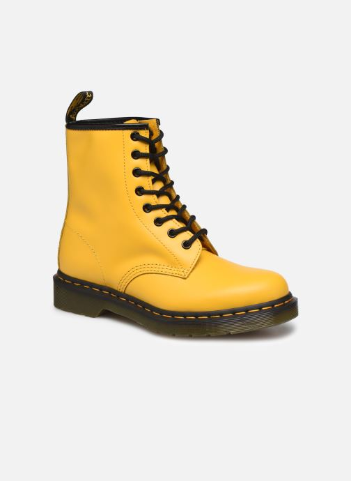 Boots en enkellaarsjes DR. Martens 1460 W Geel detail