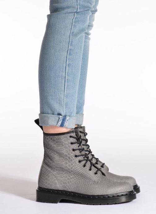 Bottines et boots Dr. Martens 1460 W Rouge vue bas / vue portée sac