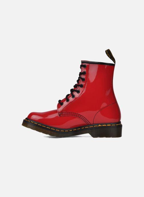 Boots Dr. Martens 1460 W Röd bild från framsidan
