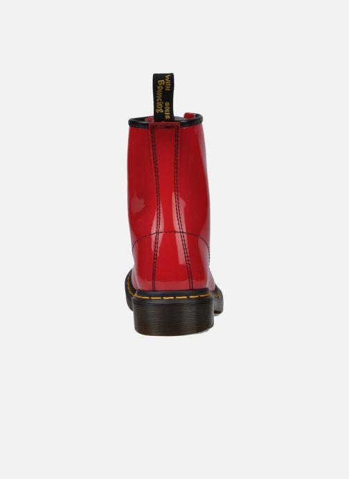 Bottines et boots Dr. Martens 1460 W Rouge vue droite