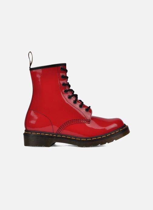 Boots Dr. Martens 1460 W Röd bild från baksidan