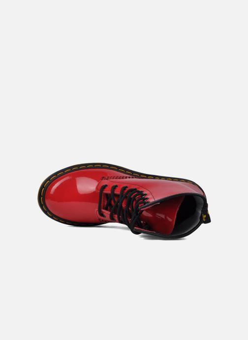 Bottines et boots Dr. Martens 1460 W Rouge vue gauche