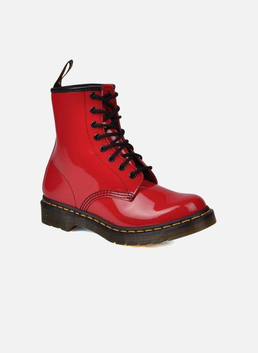 Boots Dr. Martens 1460 W Röd detaljerad bild på paret