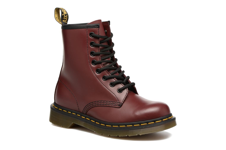Stiefeletten & Boots Dr. Martens 1460 W weinrot detaillierte ansicht/modell