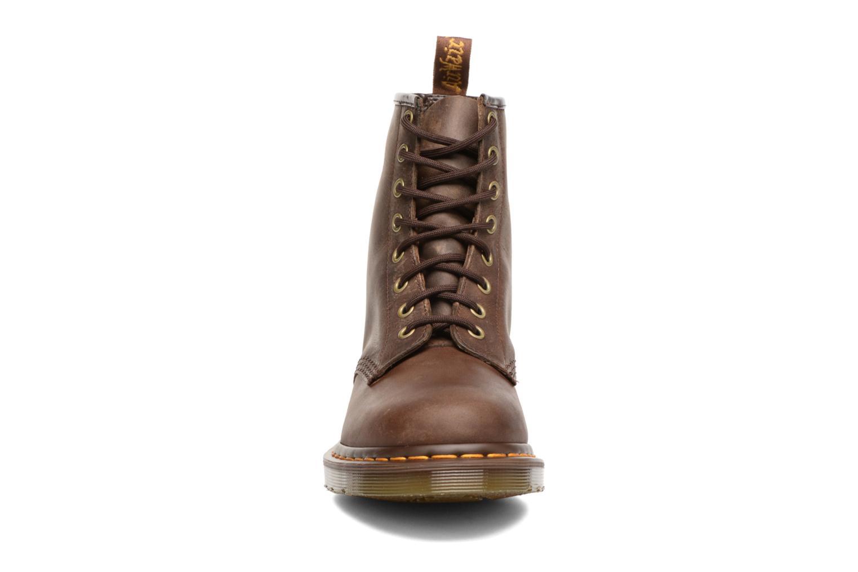 Bottines et boots Dr. Martens 1460 W Marron vue portées chaussures
