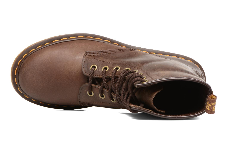 Bottines et boots Dr. Martens 1460 W Marron vue gauche