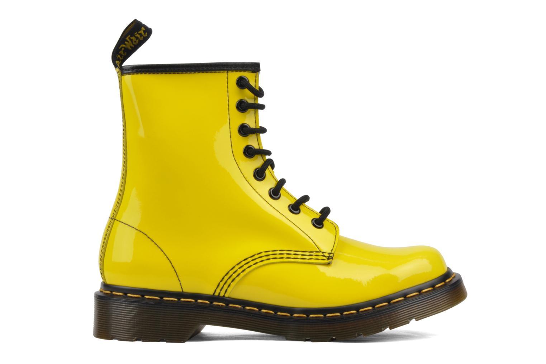 Bottines et boots Dr. Martens 1460 W Jaune vue derrière