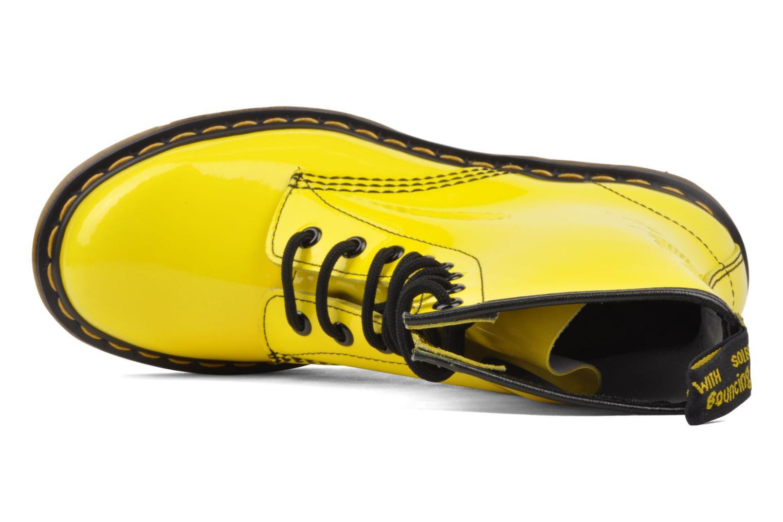 Bottines et boots Dr. Martens 1460 W Jaune vue gauche