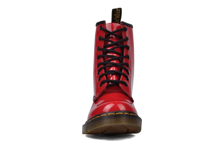 Stiefeletten & Boots Dr. Martens 1460 W rot schuhe getragen