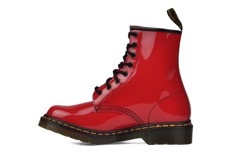Stiefeletten & Boots Dr. Martens 1460 W rot ansicht von vorne