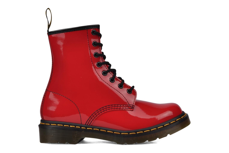 Stiefeletten & Boots Dr. Martens 1460 W rot ansicht von hinten