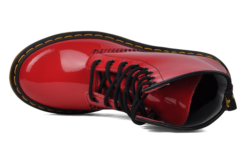 Stiefeletten & Boots Dr. Martens 1460 W rot ansicht von links