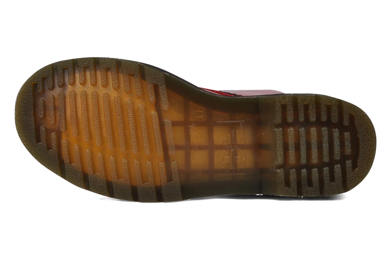 Stiefeletten & Boots Dr. Martens 1460 W rot ansicht von oben