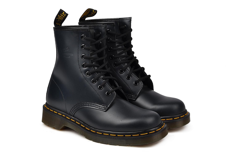 Bottines et boots Dr. Martens 1460 W Bleu vue 3/4