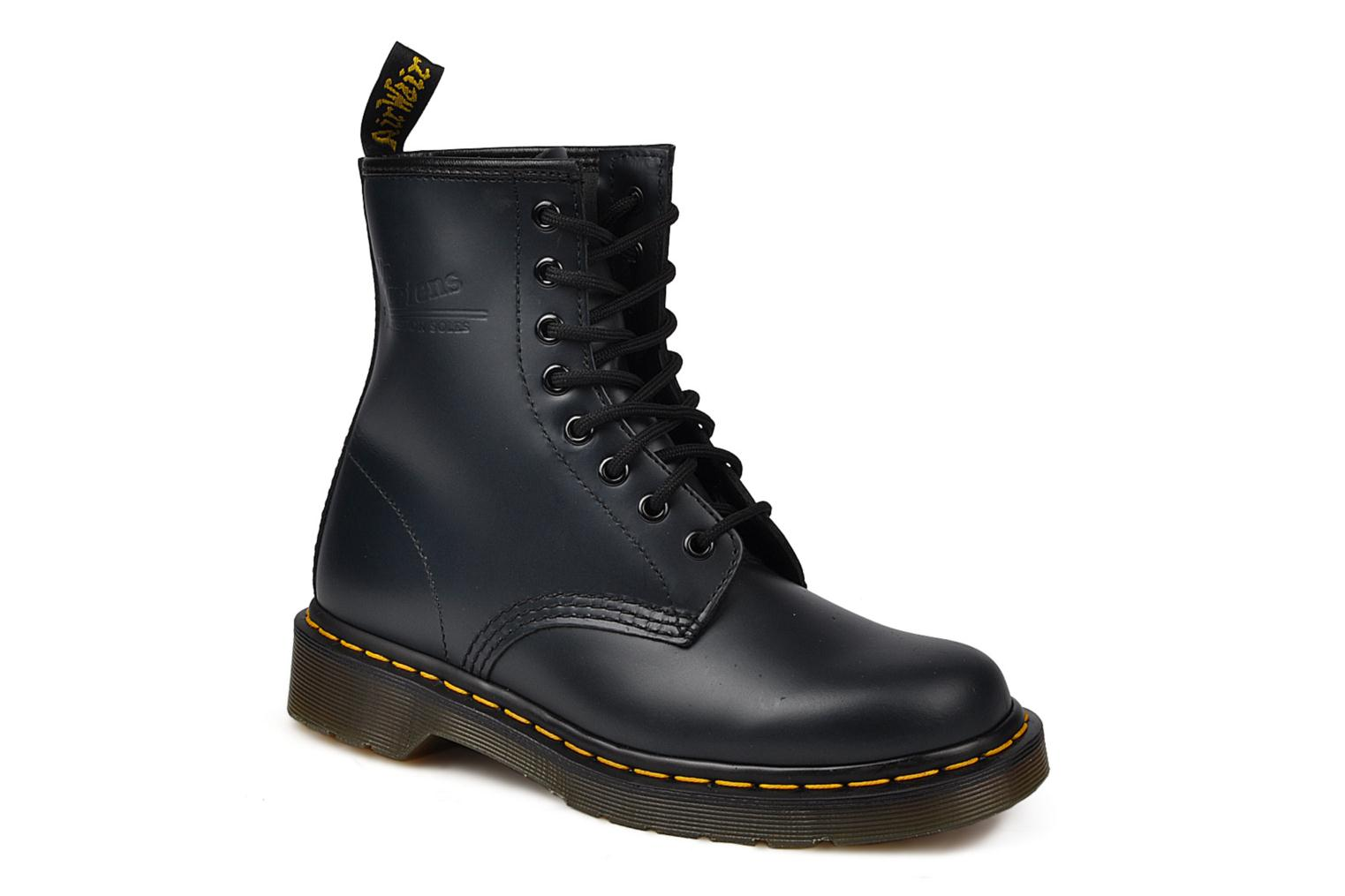 Ankle boots DR. Martens 1460 W Blue detailed view/ Pair view