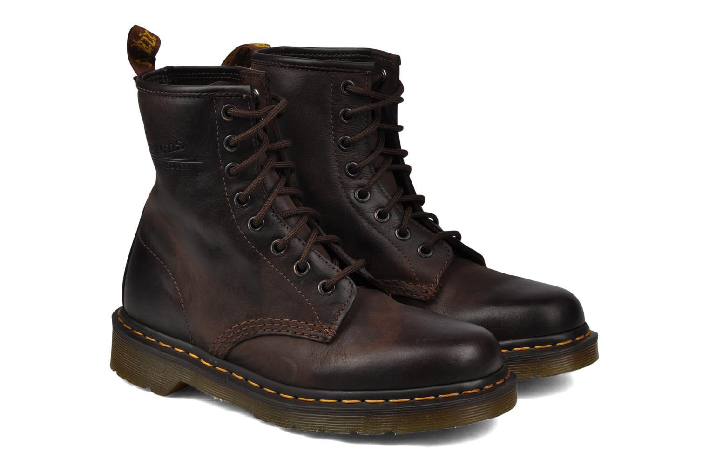 Bottines et boots Dr. Martens 1460 W Marron vue 3/4