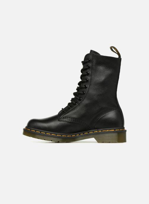 Stiefeletten & Boots Dr. Martens 1490 F schwarz ansicht von vorne