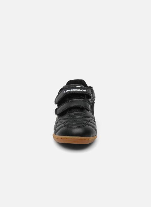 Baskets Kangaroos Backyard Noir vue portées chaussures